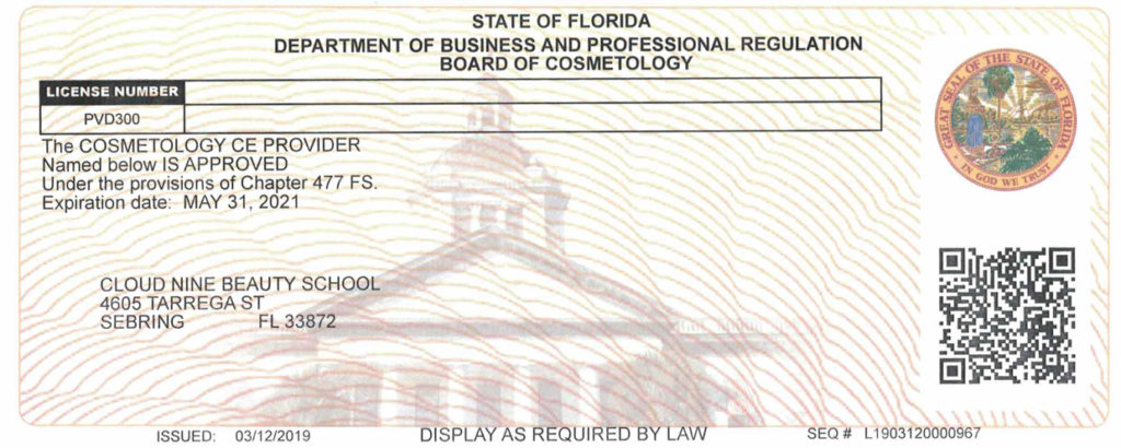 Provider License